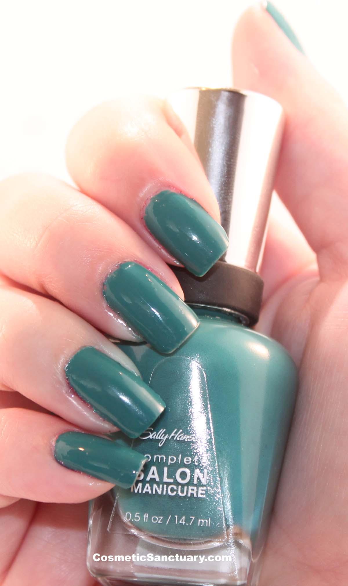 sally hansen complete salon manicure in plum 39 s the word. Black Bedroom Furniture Sets. Home Design Ideas