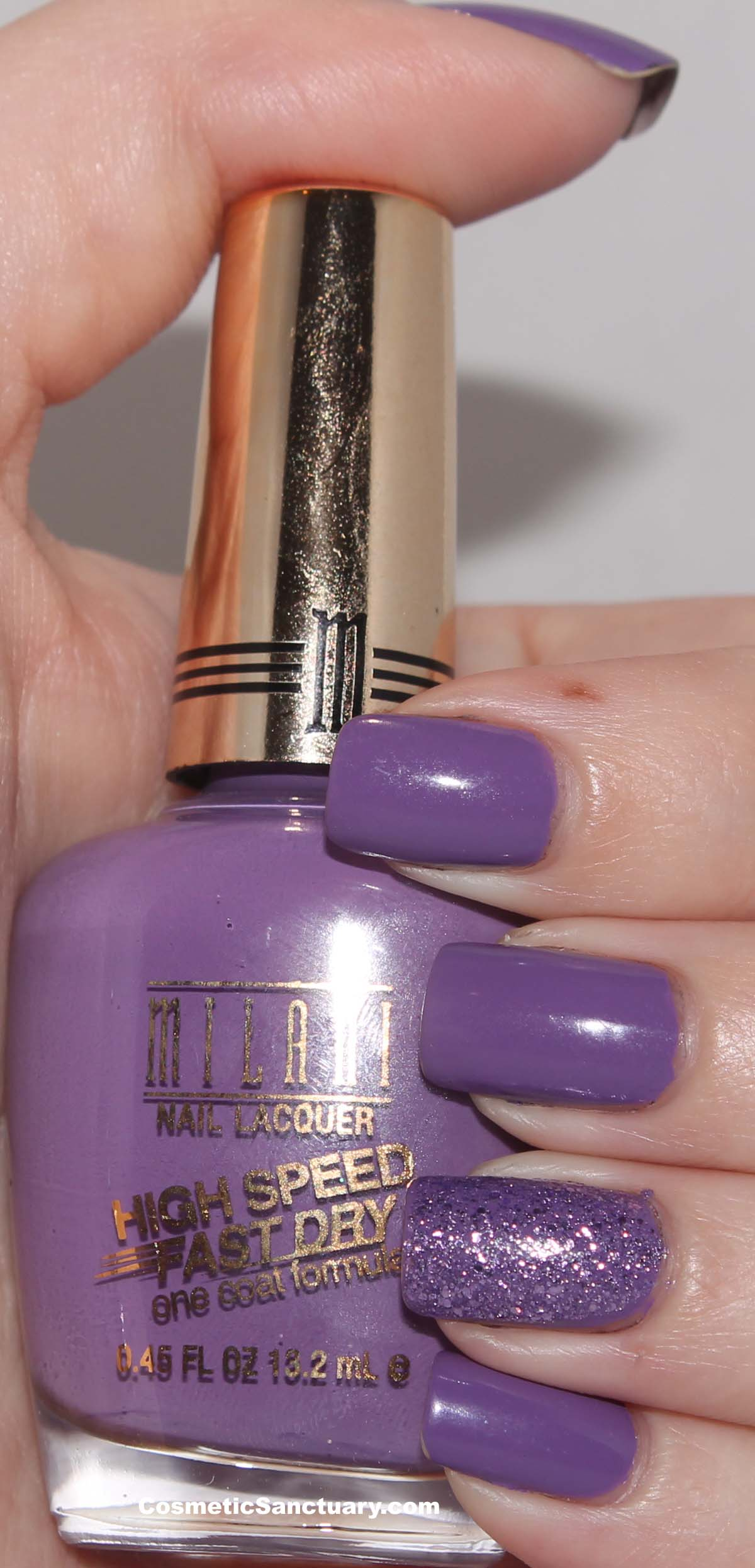 Milani High Speed Fast Dry Nail Lacquer Swatches and Reviews