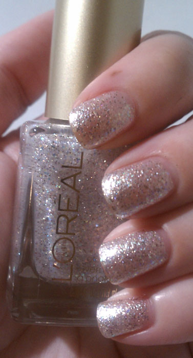 L\'Oreal Summer 2012 It\'s Gold or Nothing At All Nail Lacquer ...
