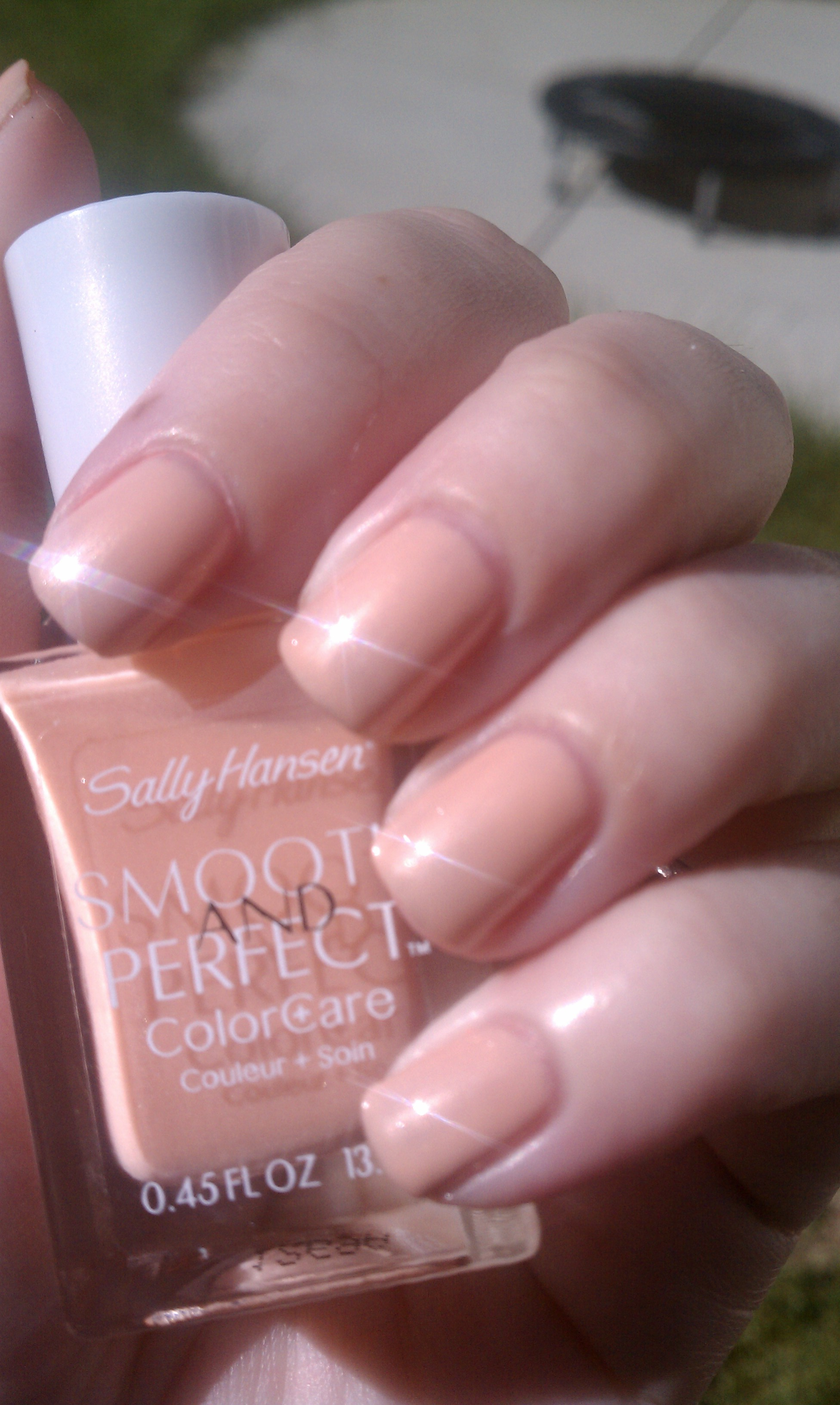 Sally Hansen Smooth and Perfect ColorCare Swatches and Review