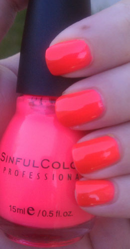 Sinful Colors Summer Neons Swatches and Reviews