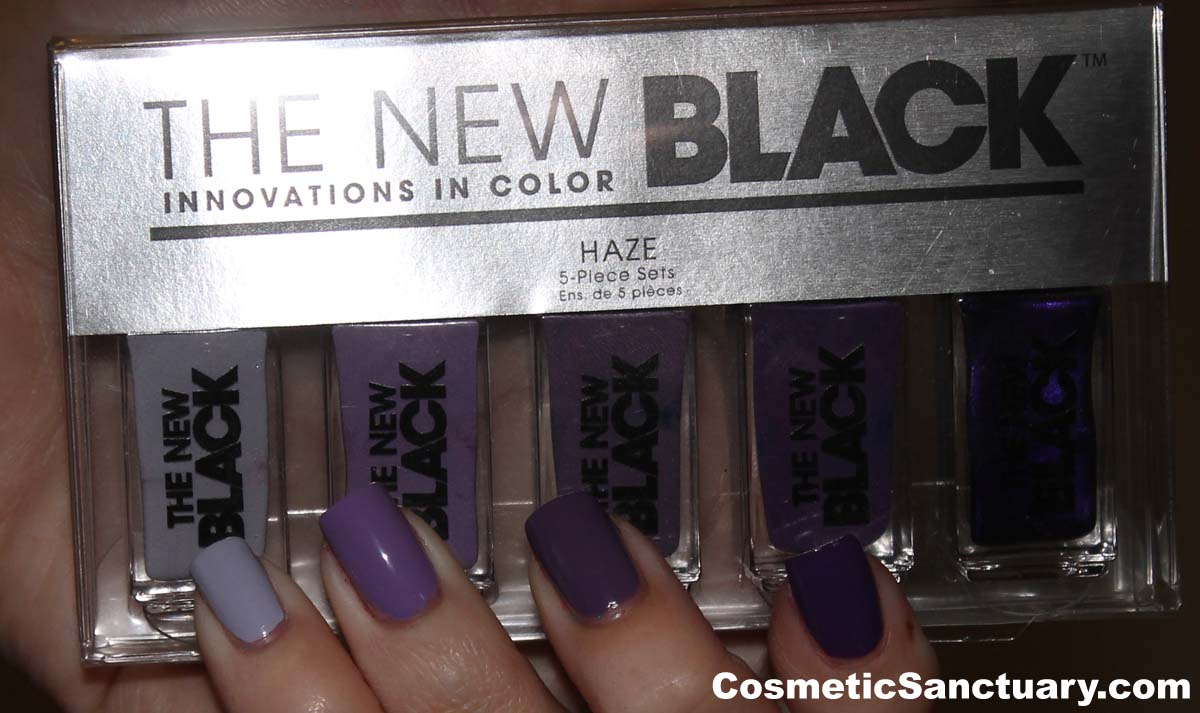 The New Black Haze Set Swatches and Reviews