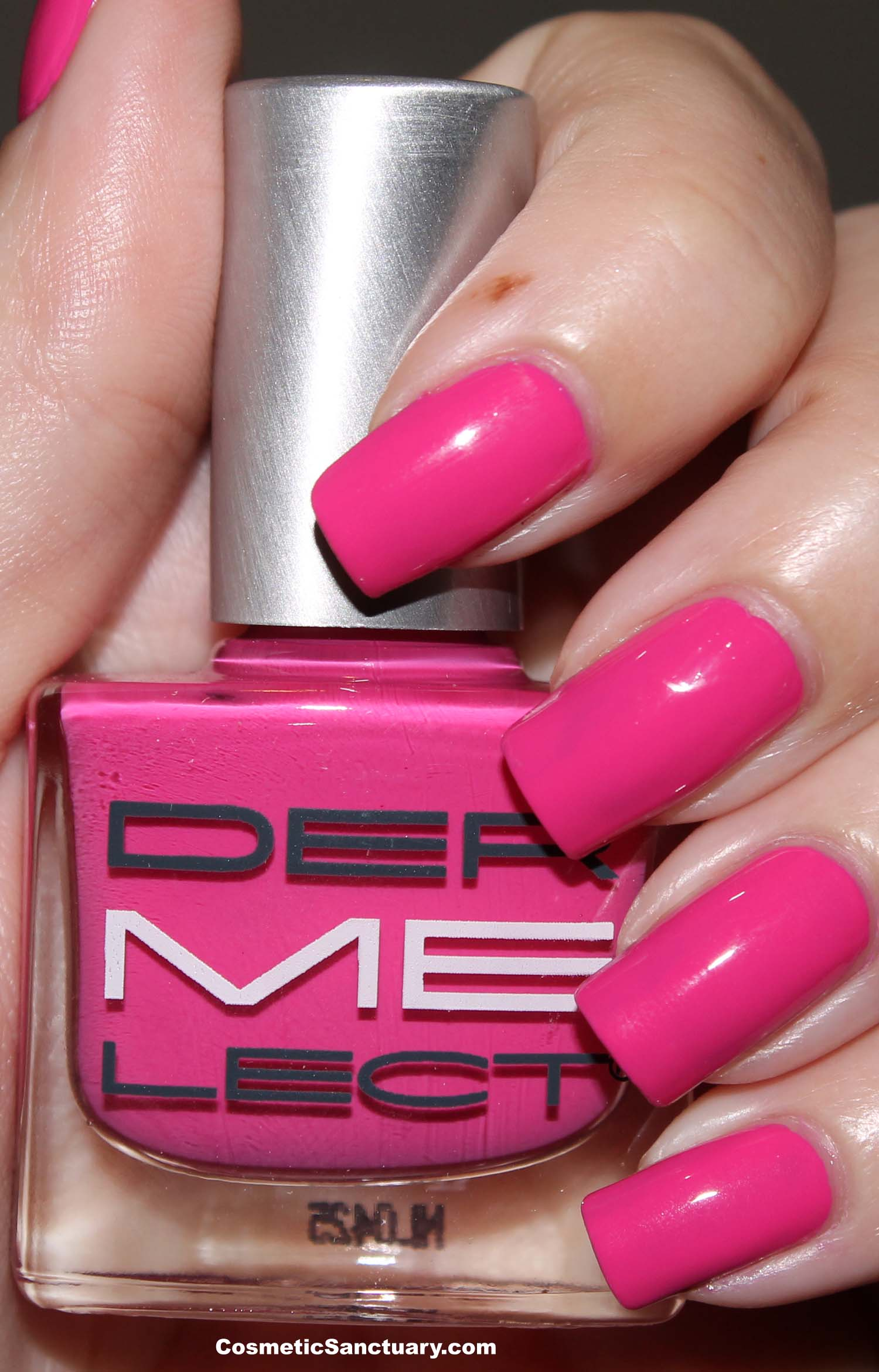 New Dermelect \'ME\' Anti Aging Colored Nail Lacquer Swatches and Review