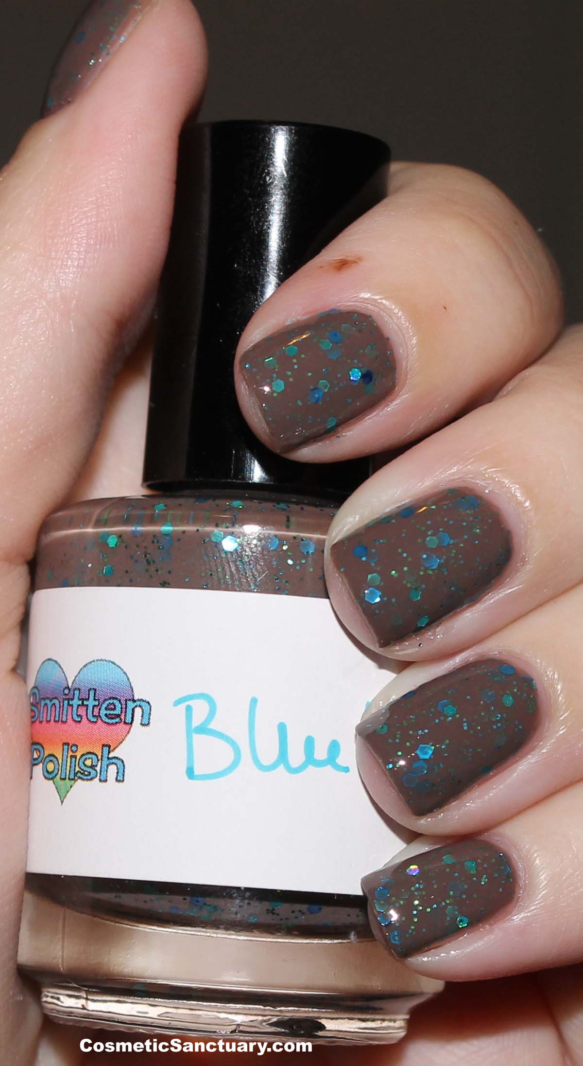 Smitten Polish – Bluebird Swatch and Review