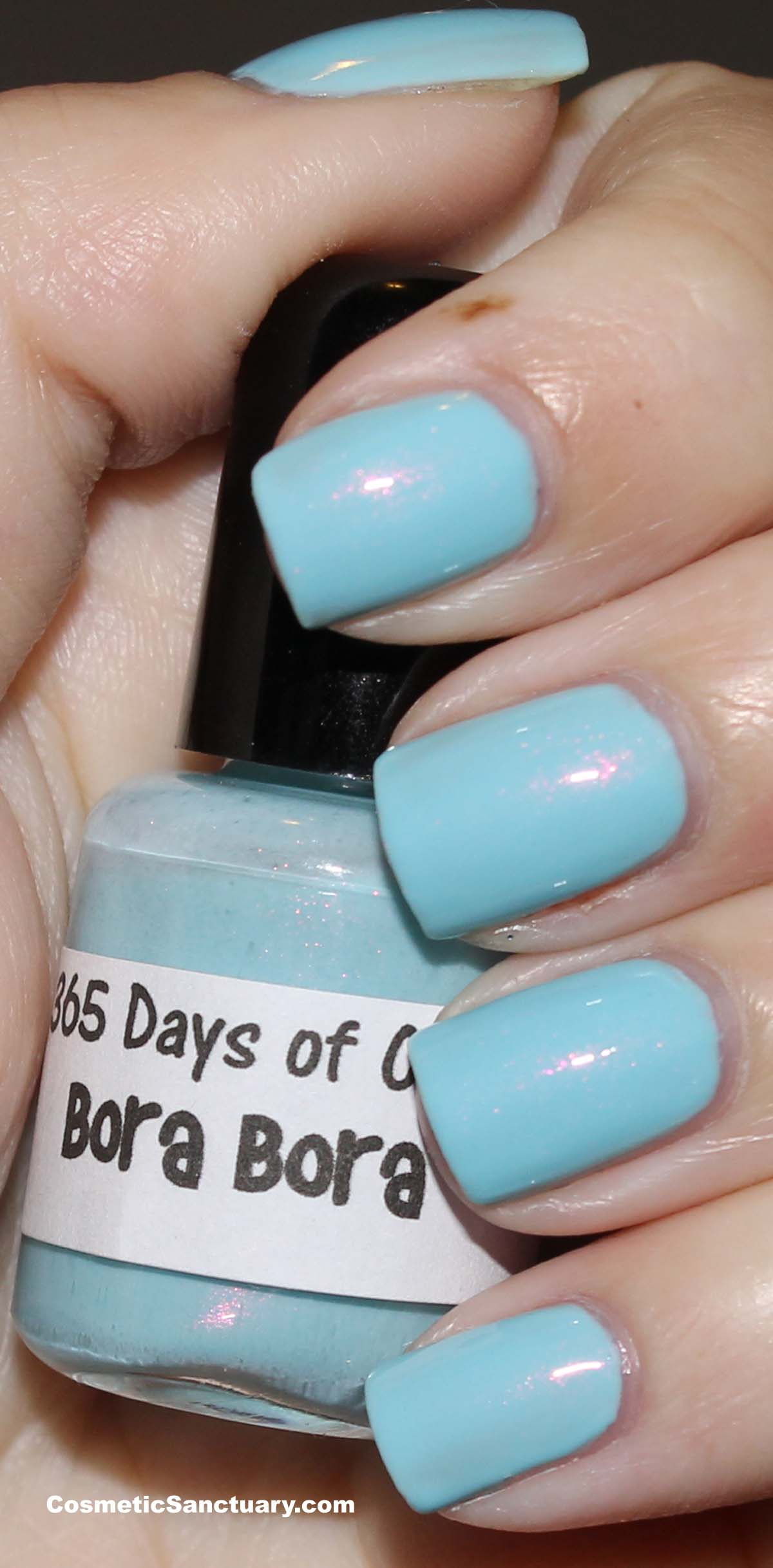 365 Days of Color – Bora Bora and Waking up in Vegas Swatches