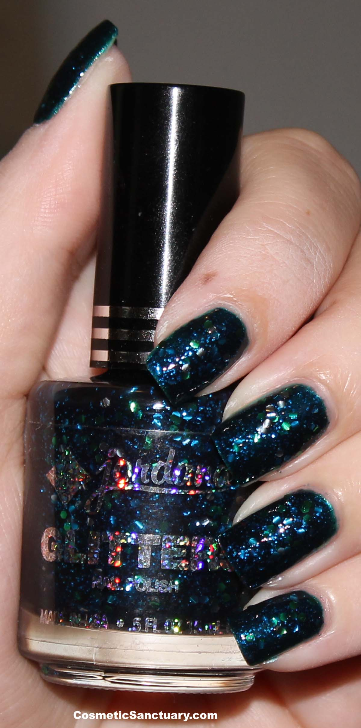 Jordana Glitter Specialty Nail Polish Swatches and Review