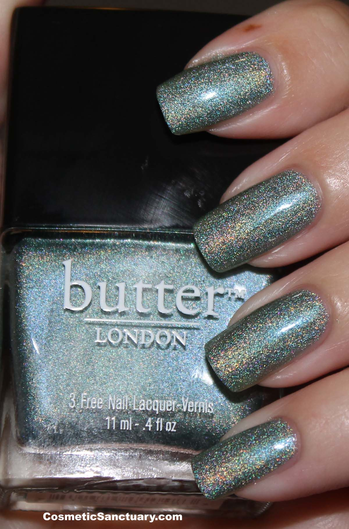 butter LONDON Fishwife Swatch and Review