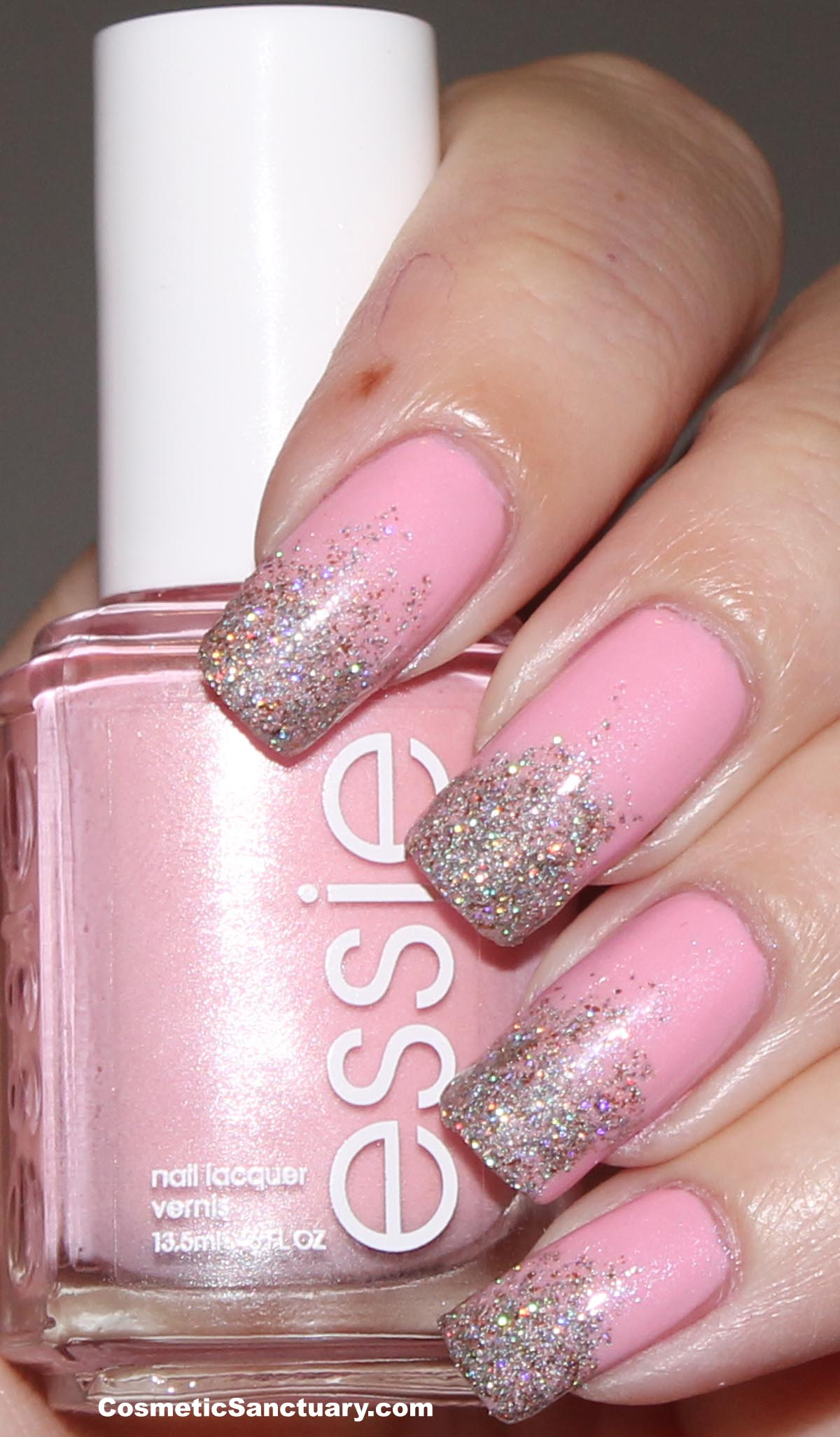 Go Pink Wednesday with Essie and butter LONDON!