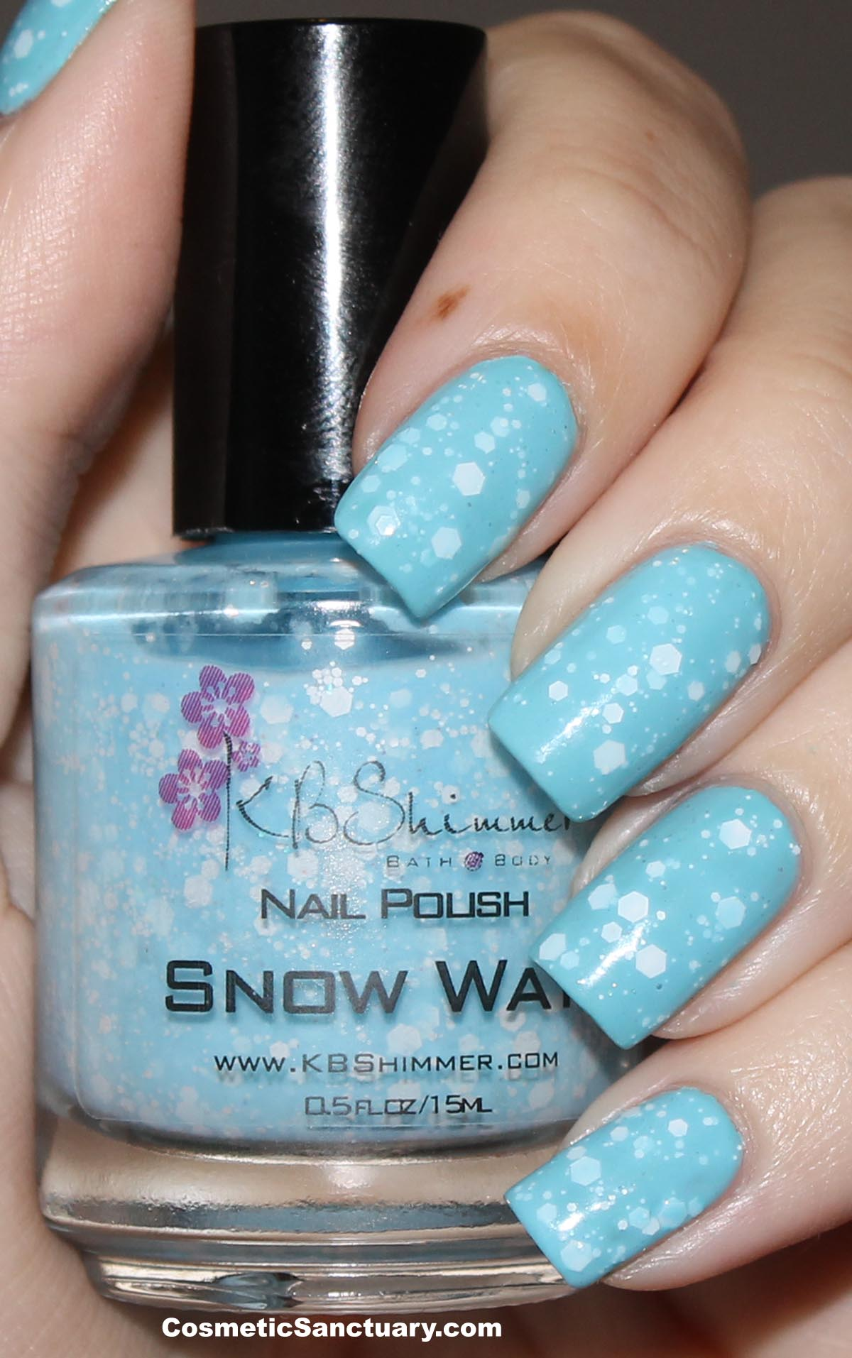 KBShimmer Winter 2012 Collection Swatches and Review