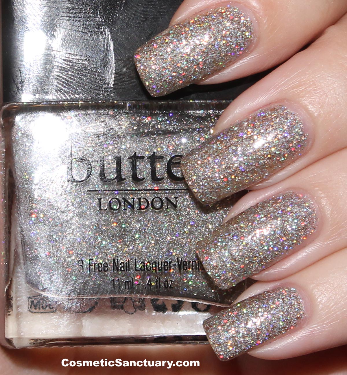 butter LONDON Fairy Cake Swatch and Review