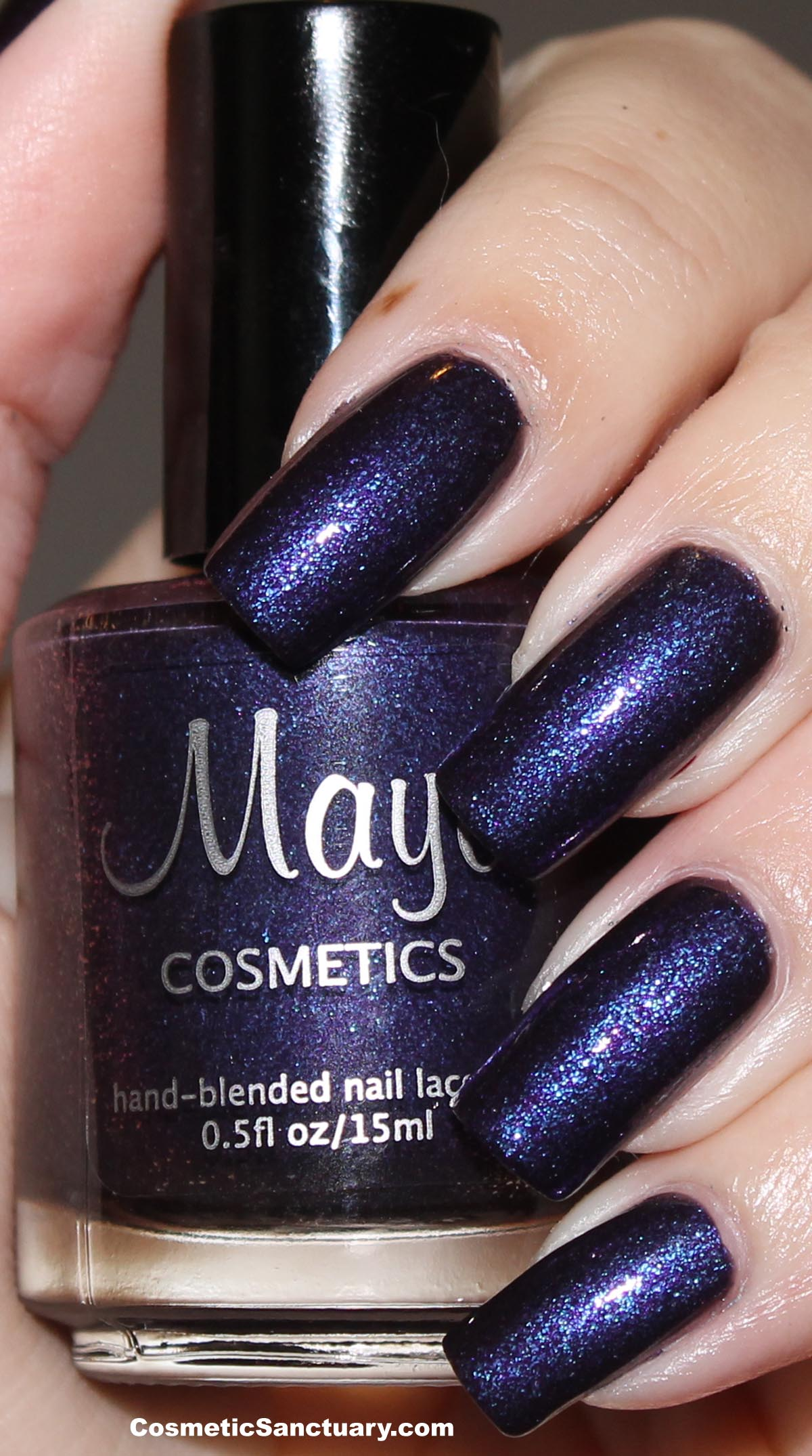 Maya Cosmetics Nail Lacquer Swatches and Review