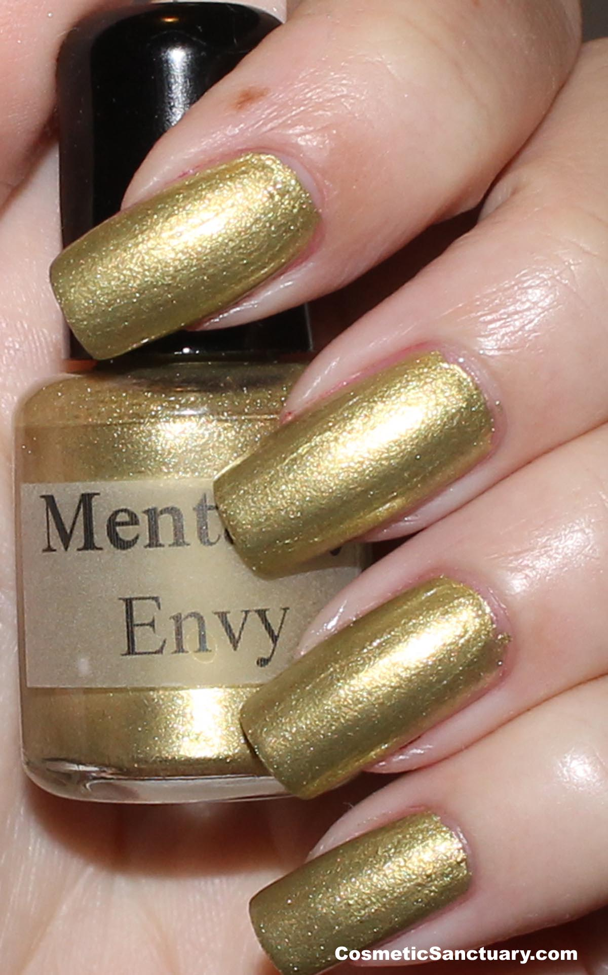 Mentality Nail Polish The Metallics Collection Swatches and Review