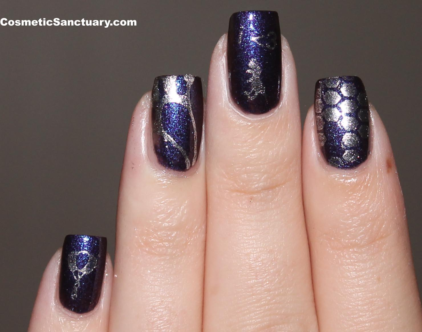 Vivid Lacquer VL 002 Stamping Plate Review