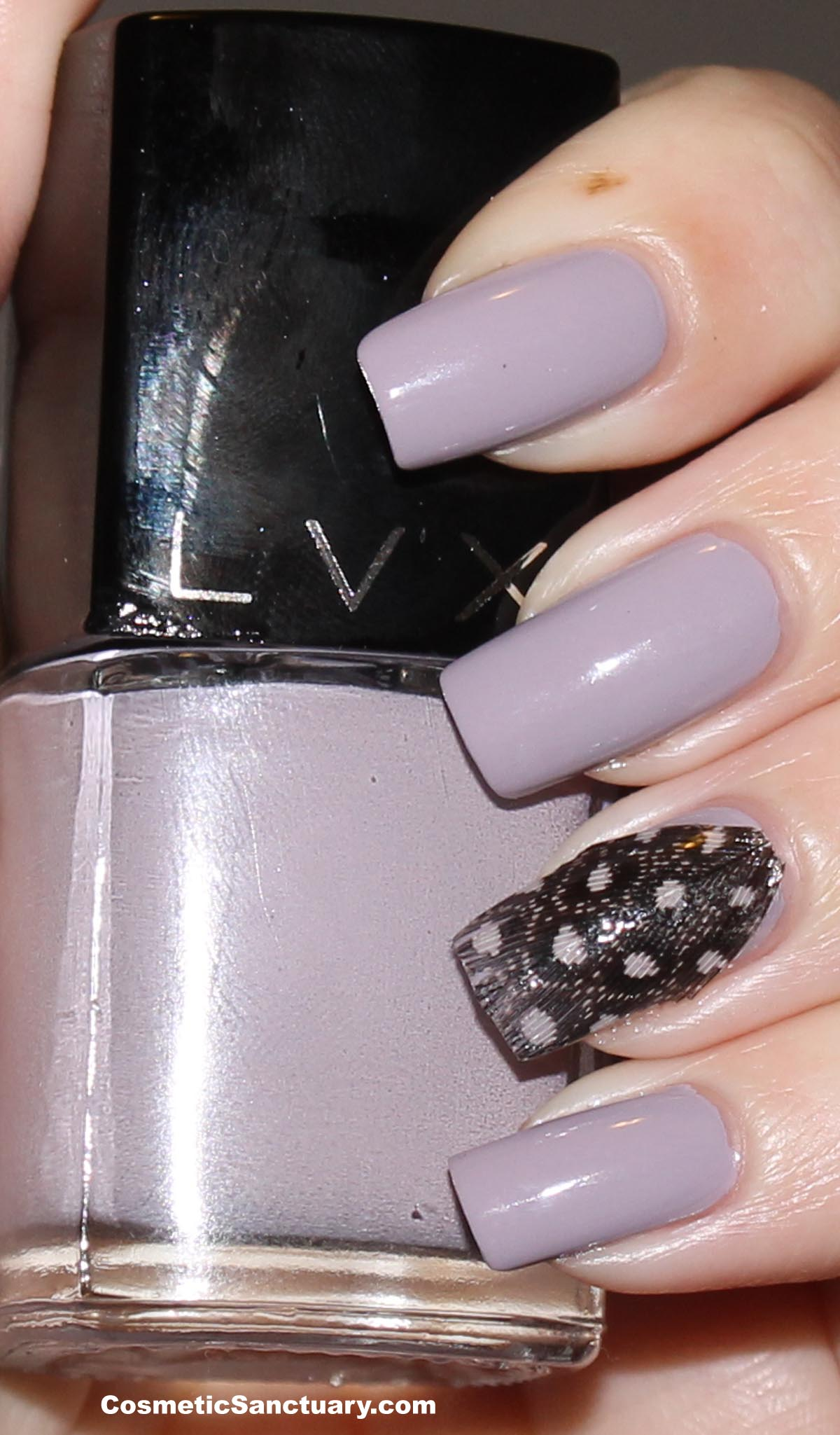 November Nail Art Society – Feather Manicure | Cosmetic Sanctuary