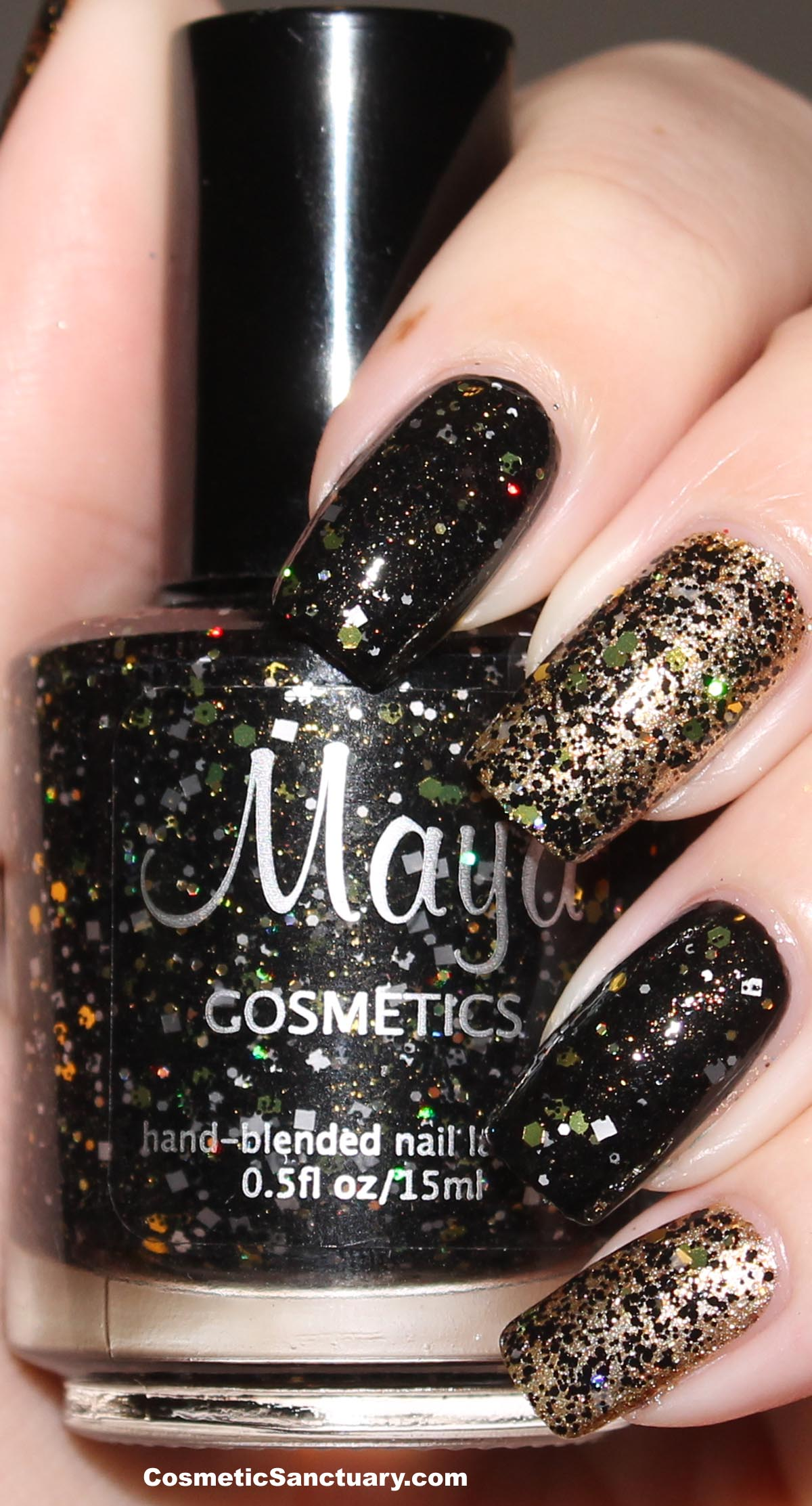 Maya Cosmetics Swatches and Review