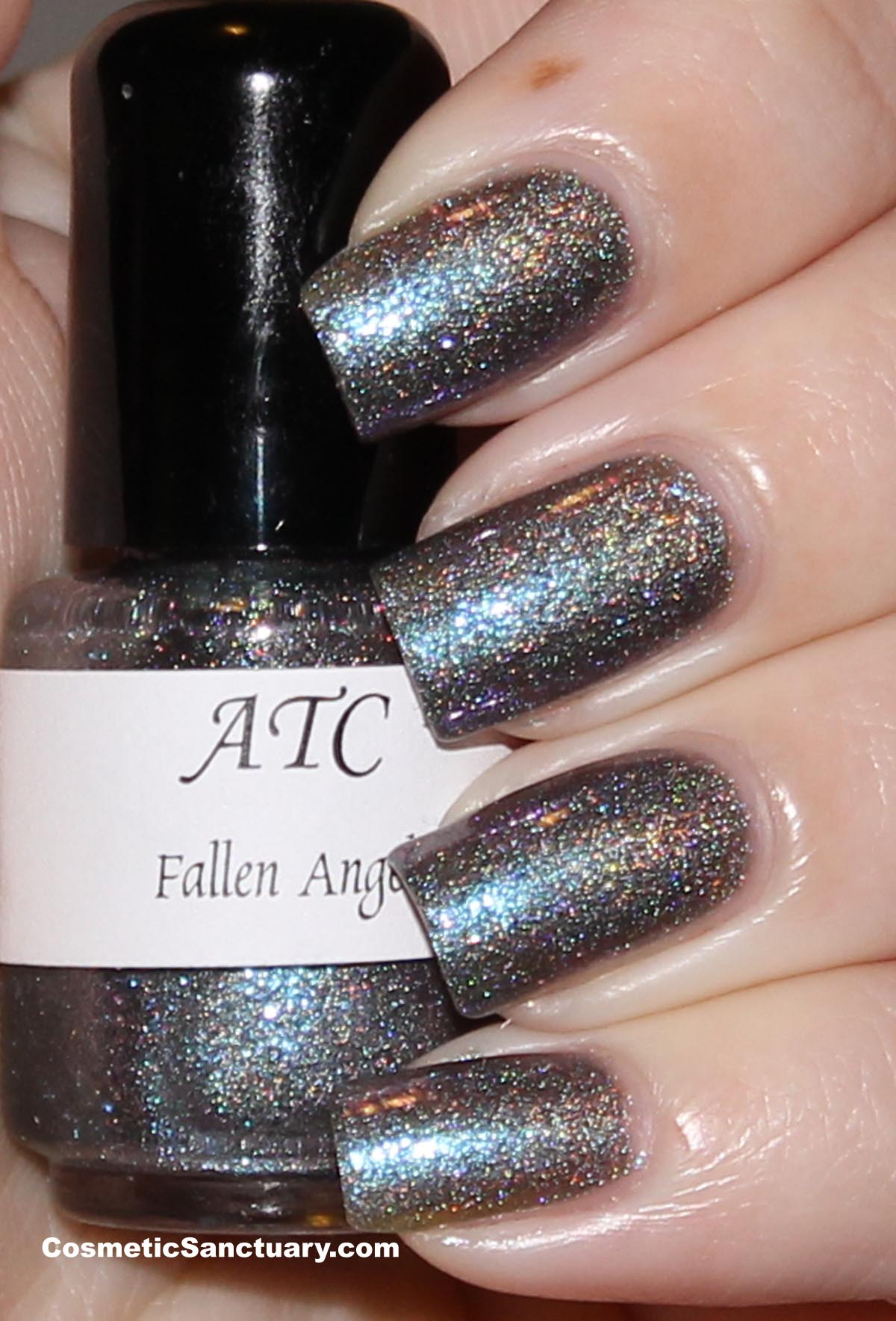 Above the Curve Nail Polish - Fallen Angel Collection - Swatches and ...