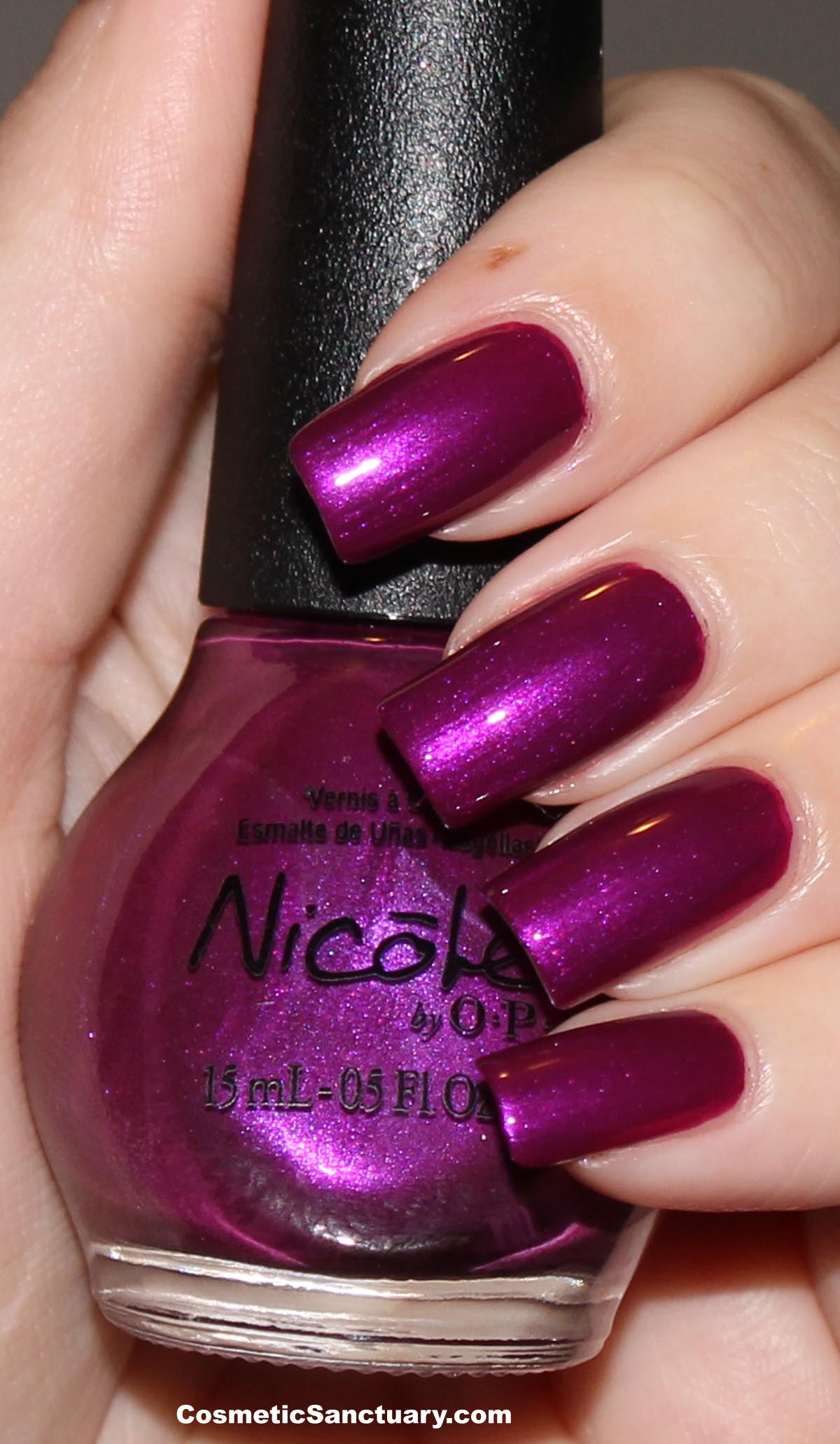 Nicole by OPI Selena Gomez Collection Swatches and Review