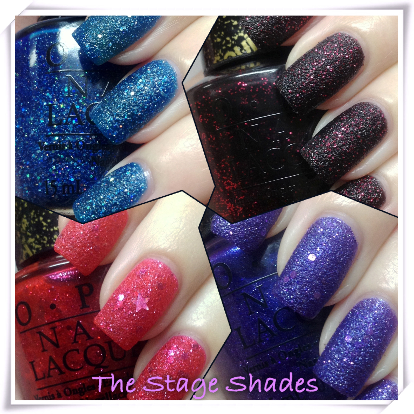OPI Mariah Carey Collection Swatches and Review