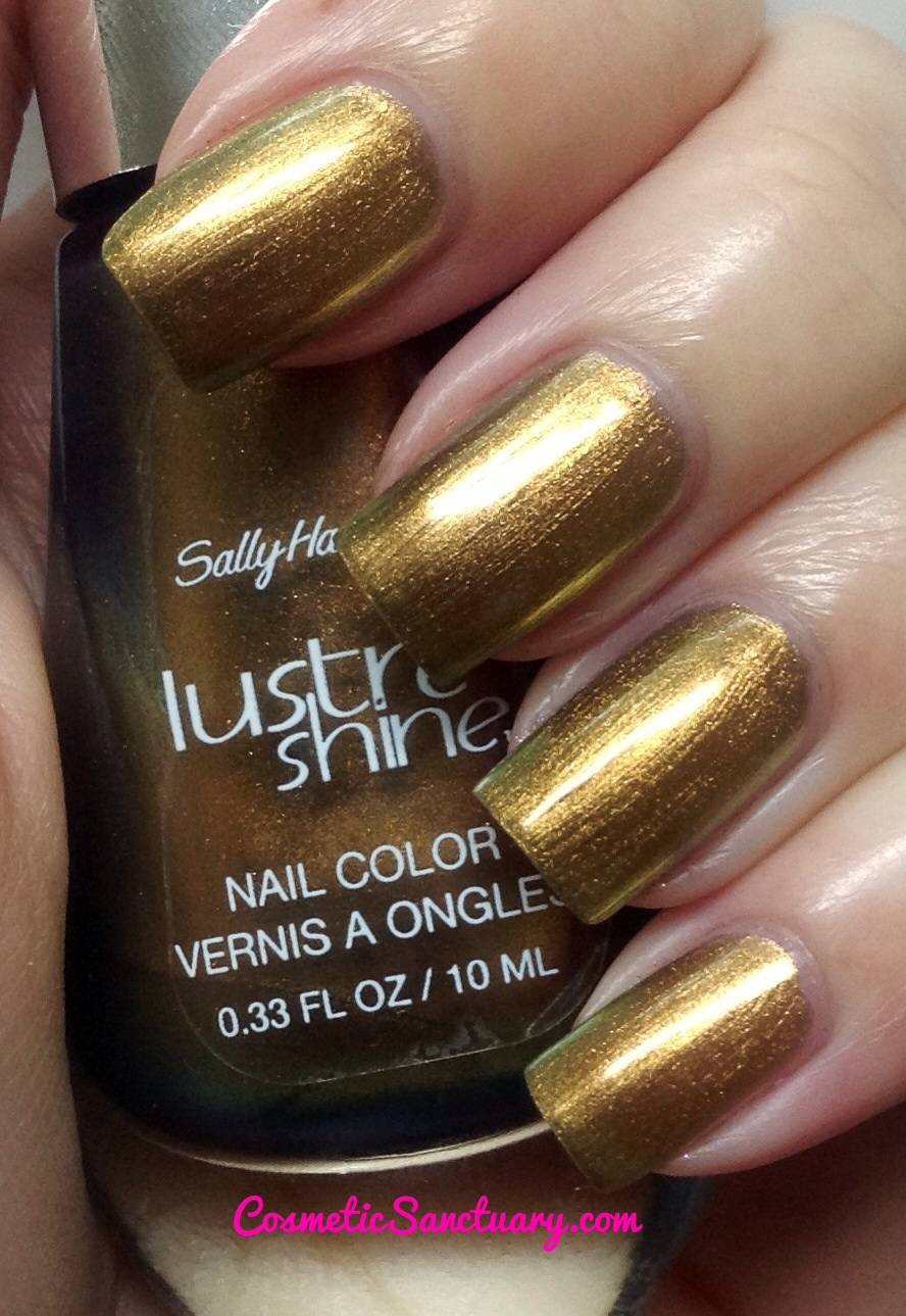 Sally Hansen Lustre Shine Swatches and Review