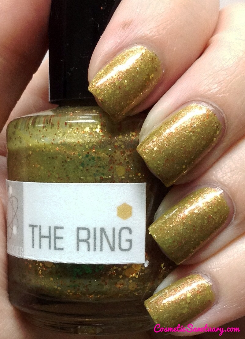 NerdLacquer The Ring Swatch and Review
