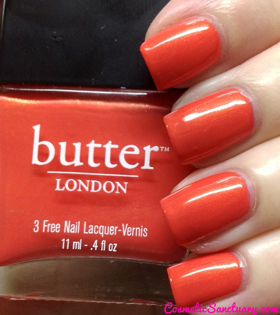 Butter London Torch Swatch And Review