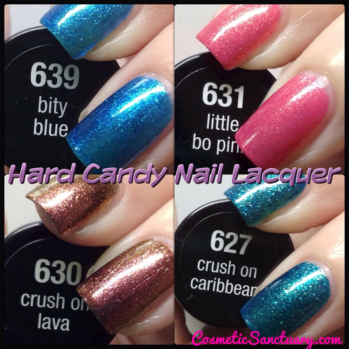 a8ffa6514d Hard Candy Nail Lacquer Swatches and Review