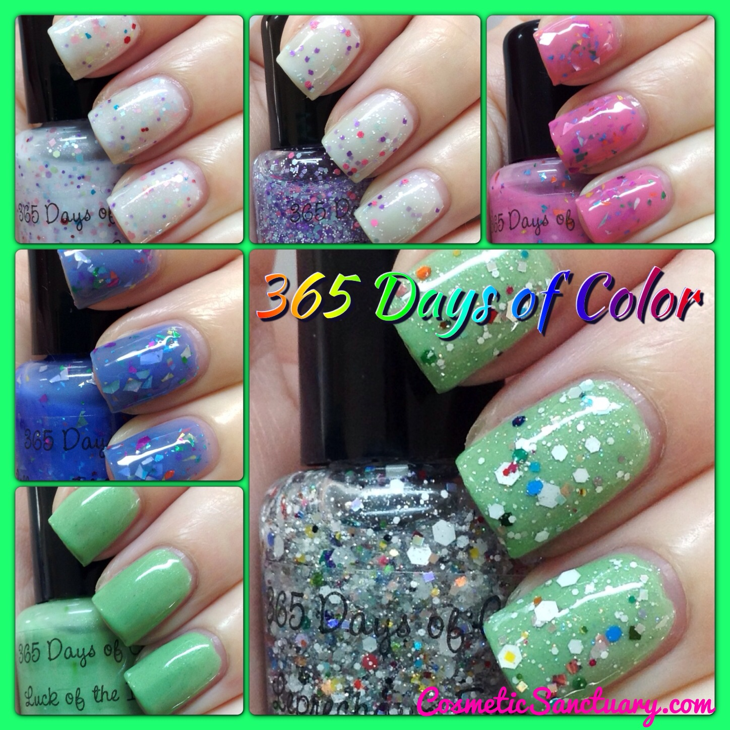 365 Days of Color Spring 2013 Swatches and Review