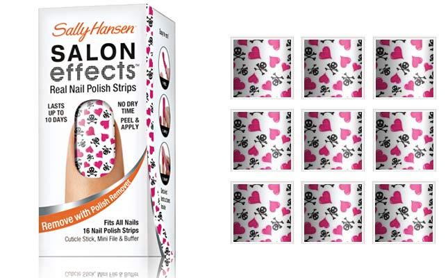 Sally Hansen Salon Effects Nail Polish Strips In Heart Breaker