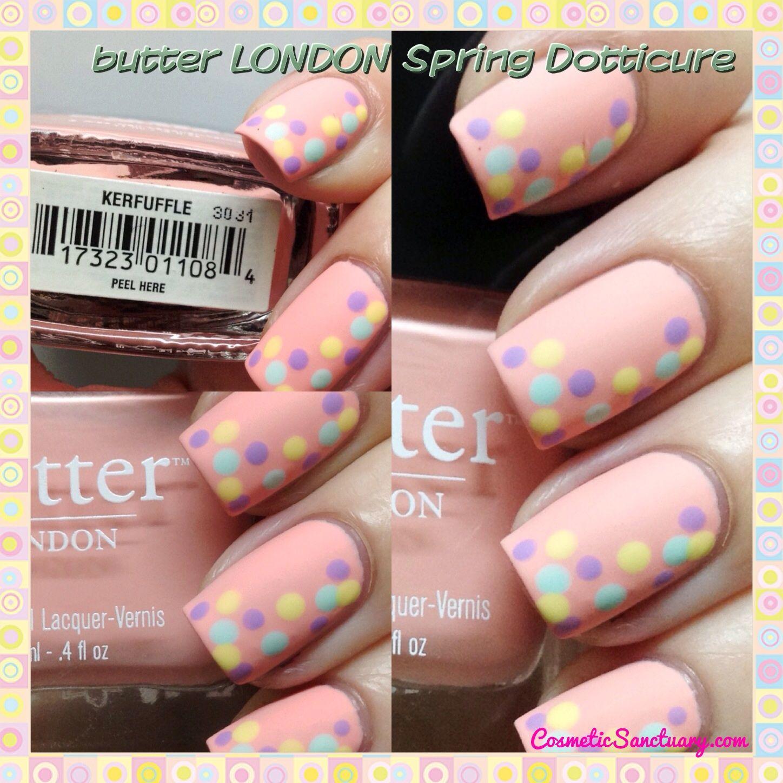 butter LONDON Spring Dotticure