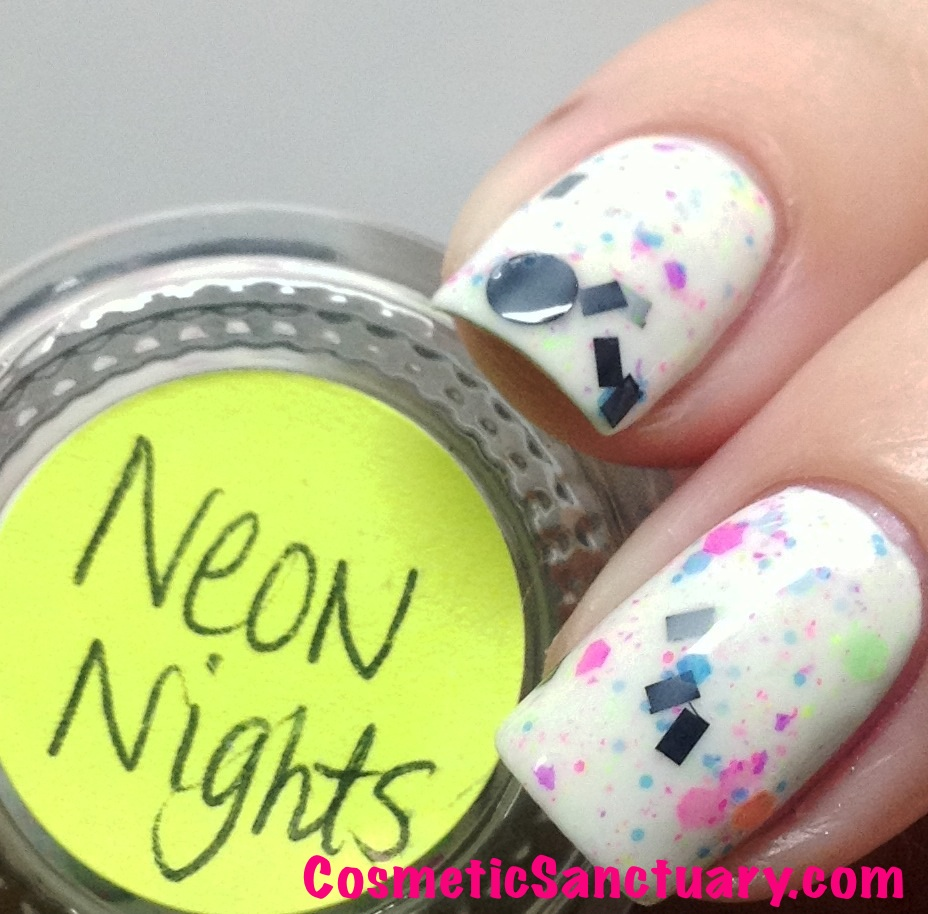 Polish Addict Nail Color Neon Nights and Island Girl Swatches & Review