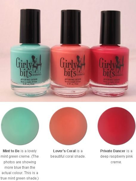 Press Release: Girly Bits Cosmetics NEW! Cremes