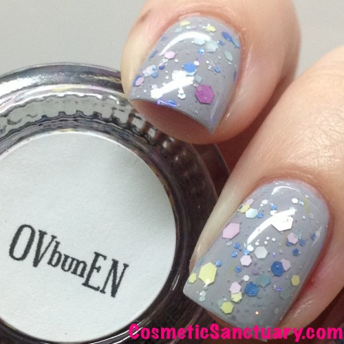 Girly Bits Elephant Shoe and Bun In The Oven Swatches and Review