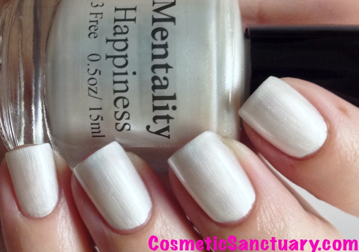 Mentality Nail Polish The Wedding Whites Collection Swatches and Review