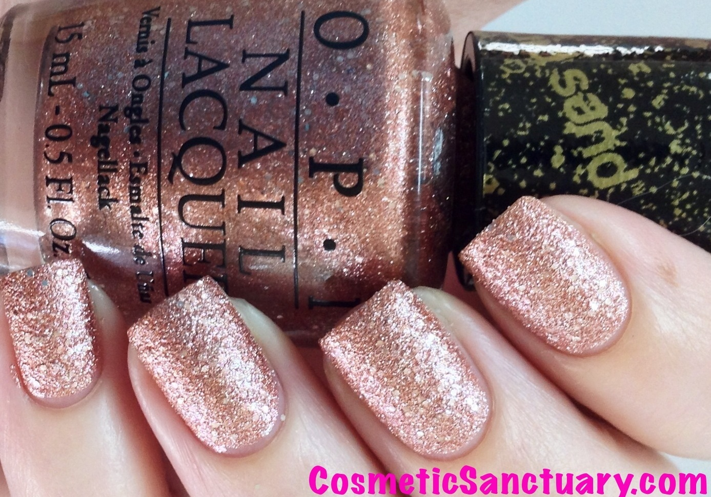 Metallic Gold Gel Nail Polish Opi