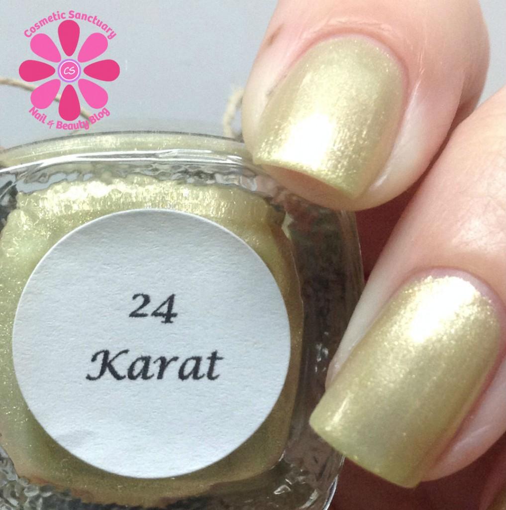 24 Karat Closeup