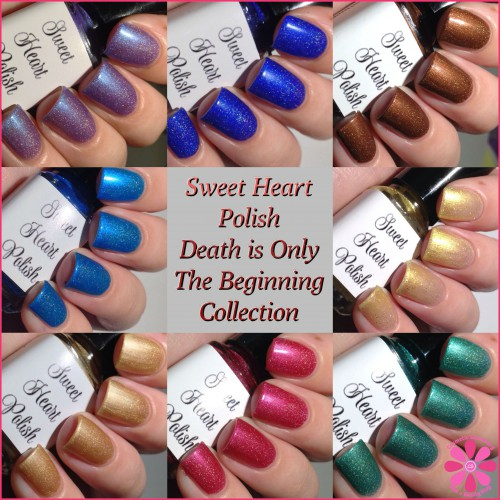 Sweet Heart Polish Death Is Only The Beginning Collection