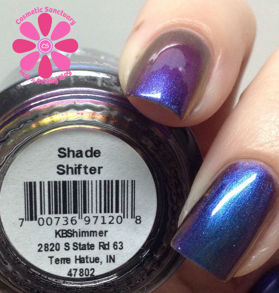 KBShimmer Winter 2013 Collection Part 1 Swatch & Review - Cosmetic ...