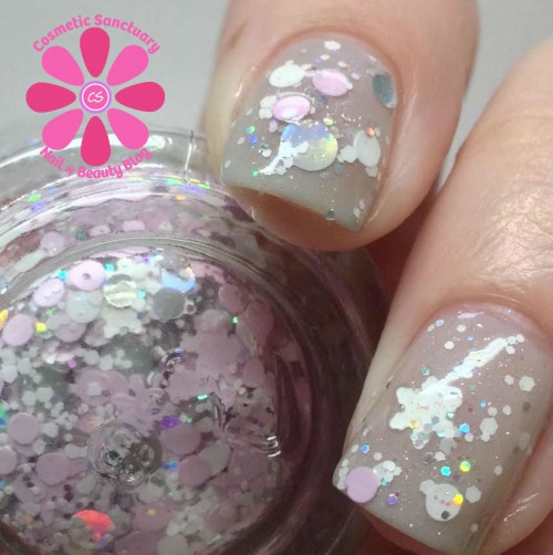 DIFFERENT dimension Frozen Fairy Floss Swatch