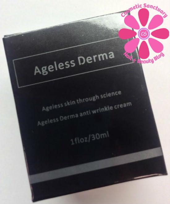 Agelss Derma Wrinkle Creme box
