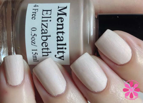 Mentality Nail Polish - Angelina, a pastel lilac from the