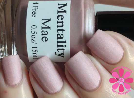 Mentality Nail Polish The Pastel Mattes Swatches and
