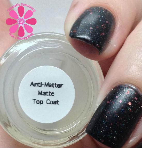 Anti Matter Matte Top COat CU