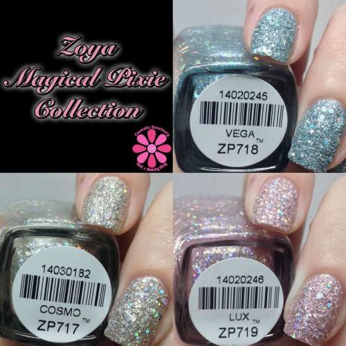 Zoya Magical Pixie Collection Swatches, Review & Giveaway