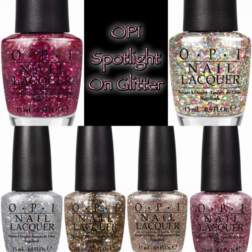 OPI Announces a NEW Line of Sparkling Shades with Spotlight on Glitter