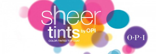 OPI Launches NEW Color Tinted Top Coats