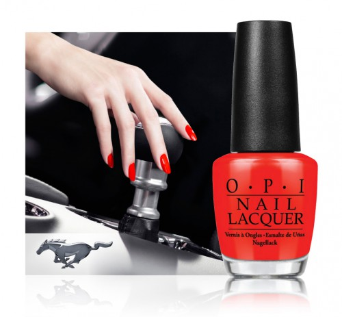 OPI Teams Up With Ford To Celebrate Mustang's 50th Anniversary Inspired Limited Edition Collection