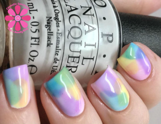 OPI Sheer Tints Swatches, Review and A Little Nail Art