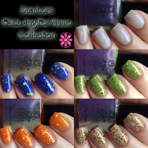 Sea Lore FALL-Ing For Nemo Collection Swatches & Review