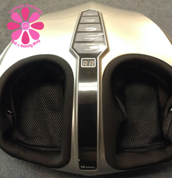 how to use a visage foot massager
