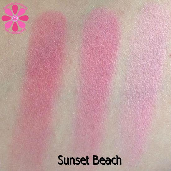 Sunset Beach Swatches